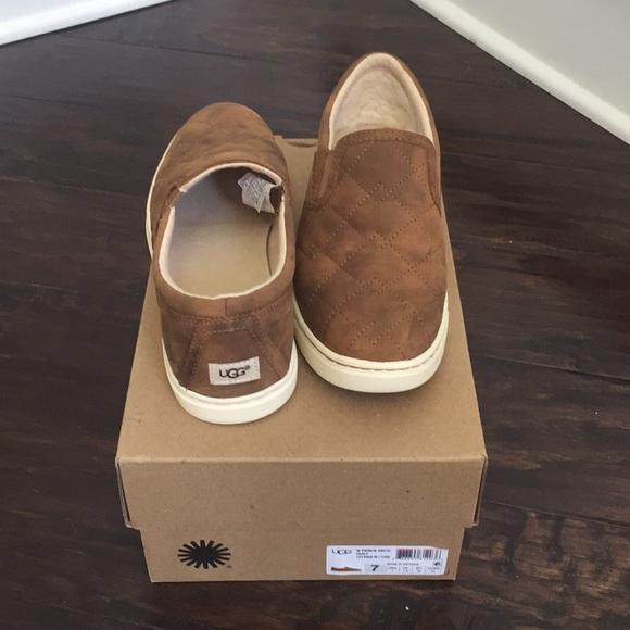 73d57d32180 UGG Fierce Deco Quilt Slip On Sneakers